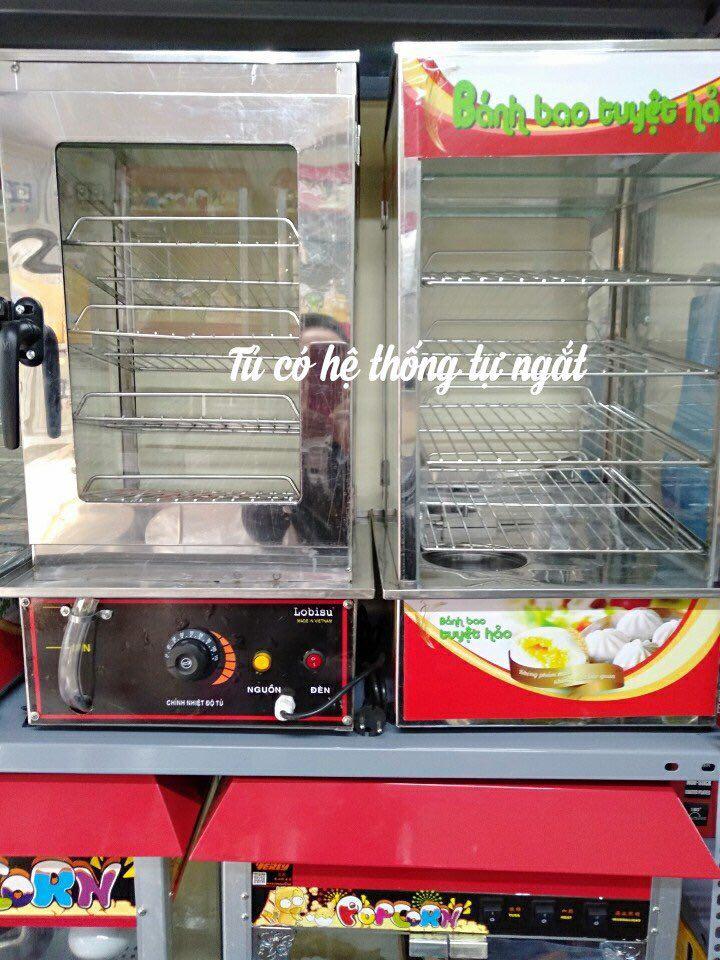 Tủ Hấp Bánh Bao 4 Khay Tự Ngắt Việt Nam