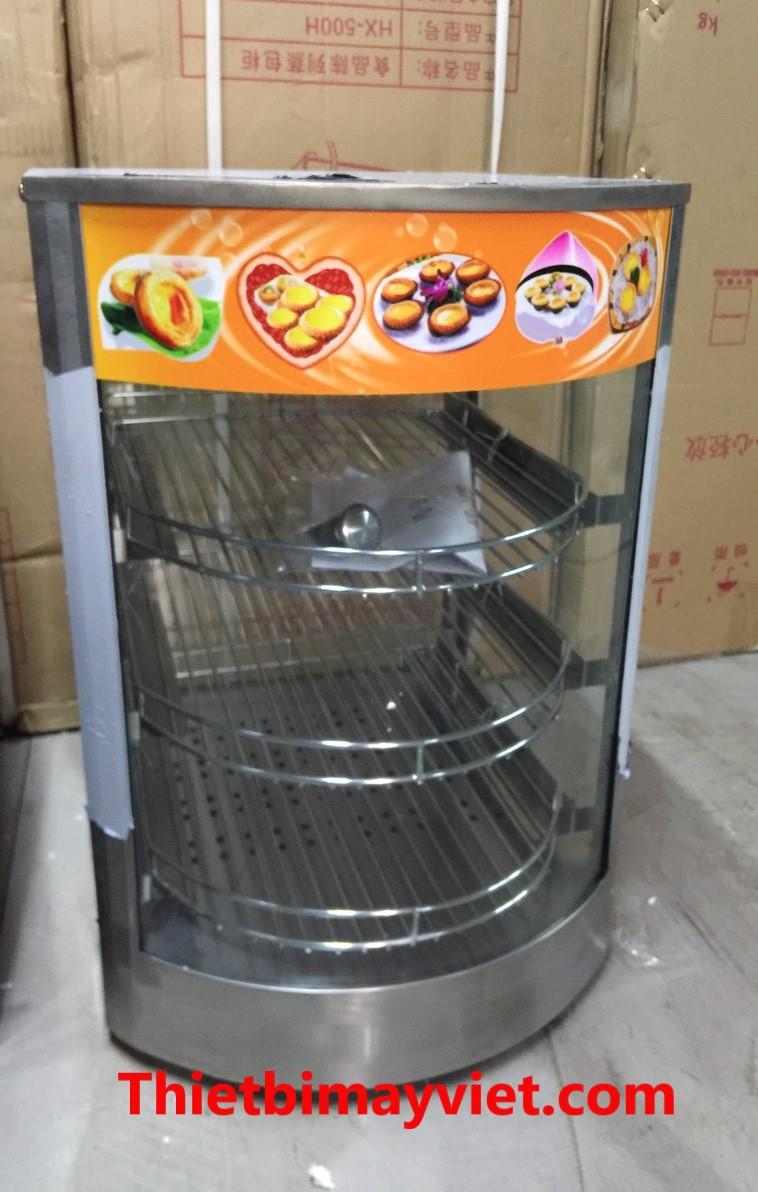 Tủ trưng bày, giữ nóng thực phẩm 1 khay - 3 tầng