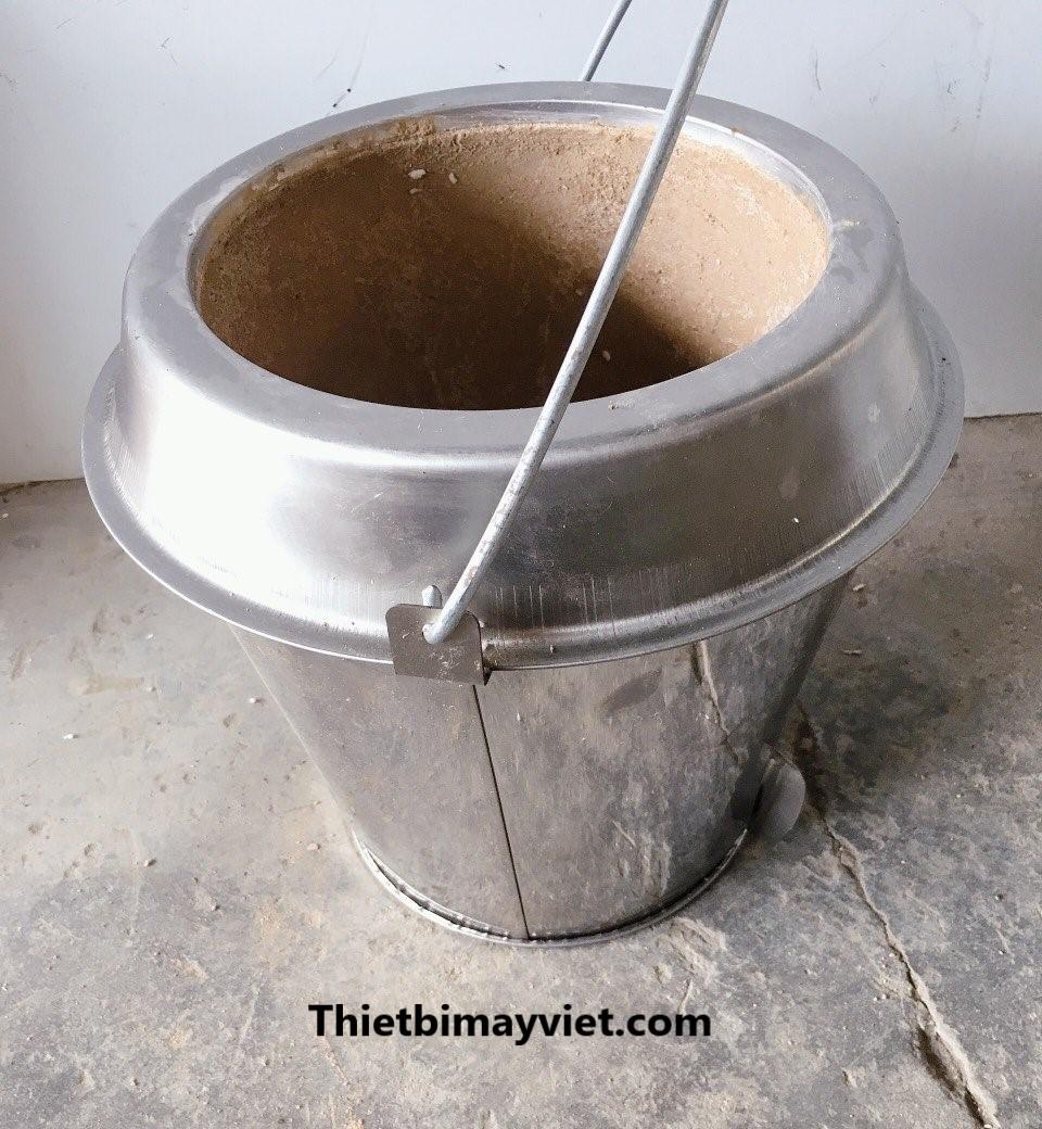 Bếp lò than - Phụ kiện cho lu quay vịt