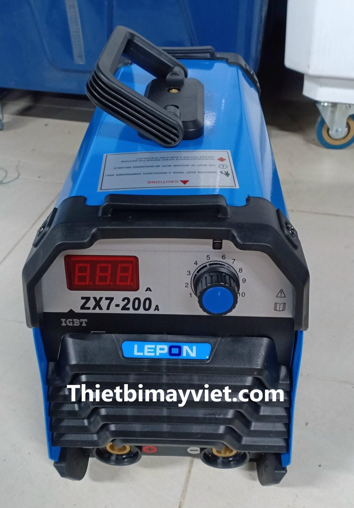 Hàn Điện Lepon xz7 - 200a