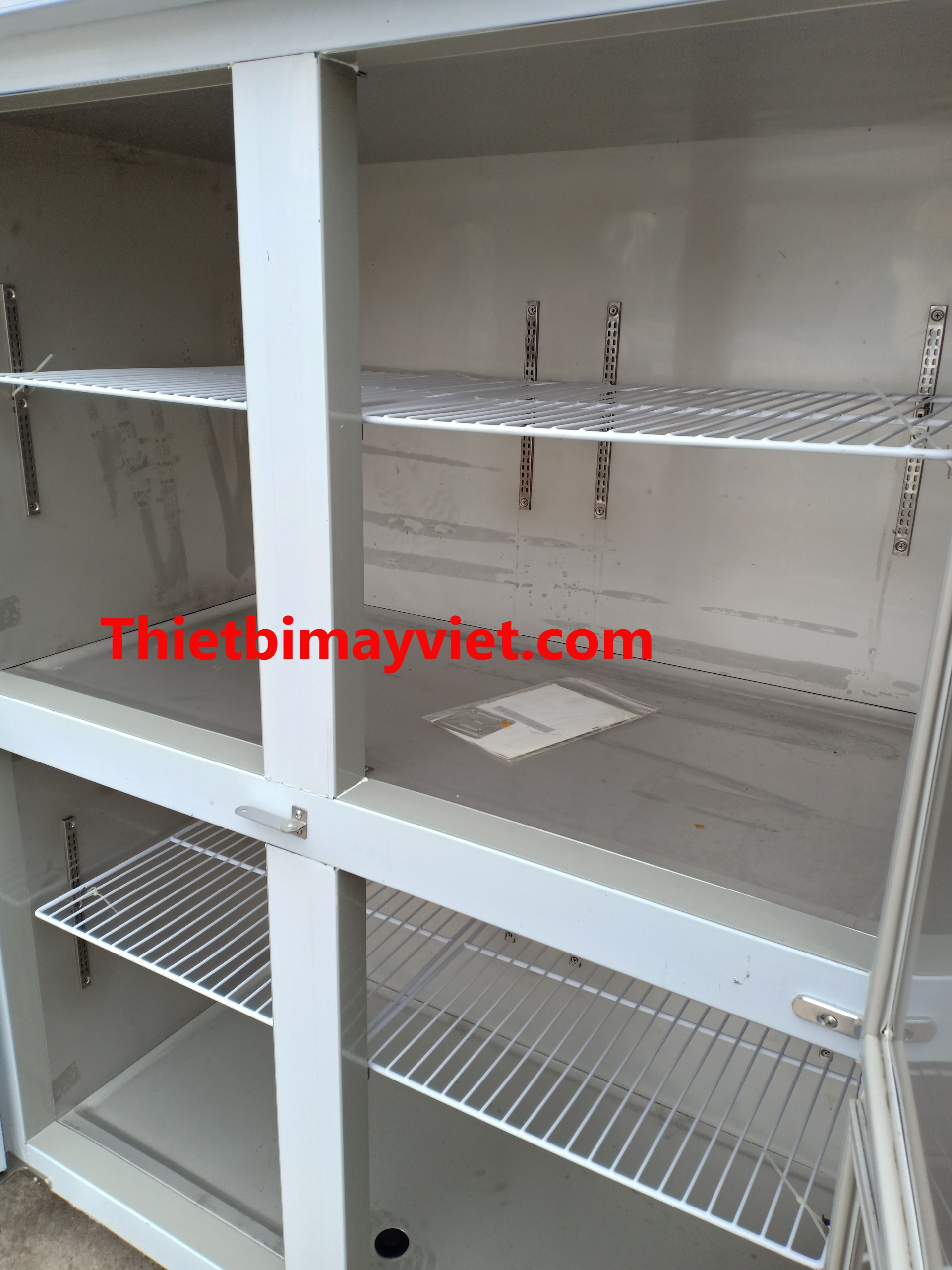 Tủ đông 4 cánh cảm ứng 2 giàn lạnh (III)