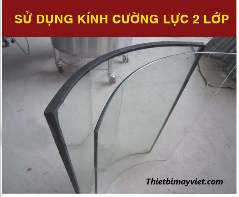 Kính chịu nhiệt Lu 850