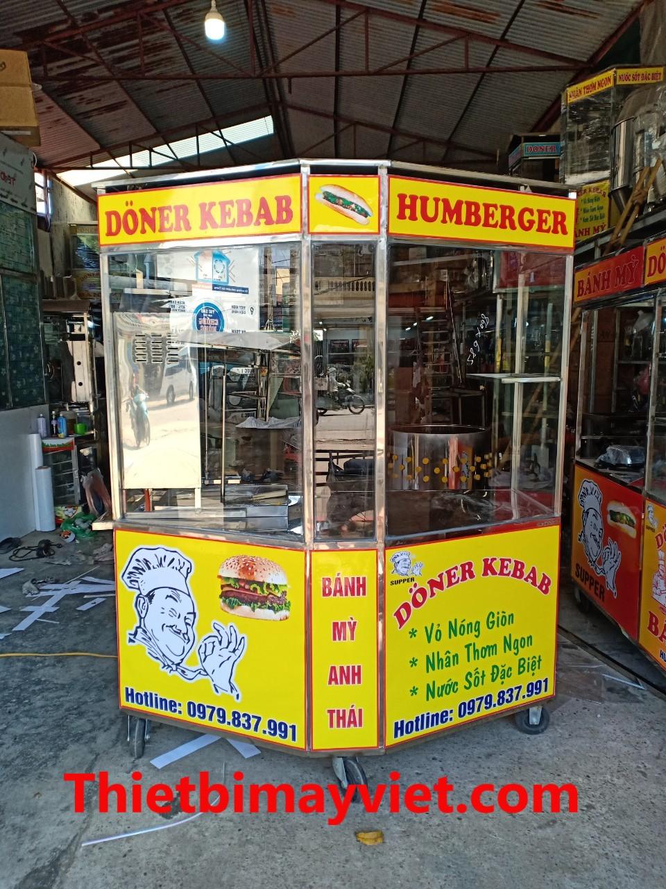 Xe Bánh Mì Lục Giác 1m5
