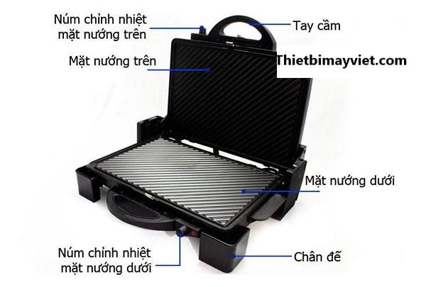 Máy Ép Bánh Mì TS965
