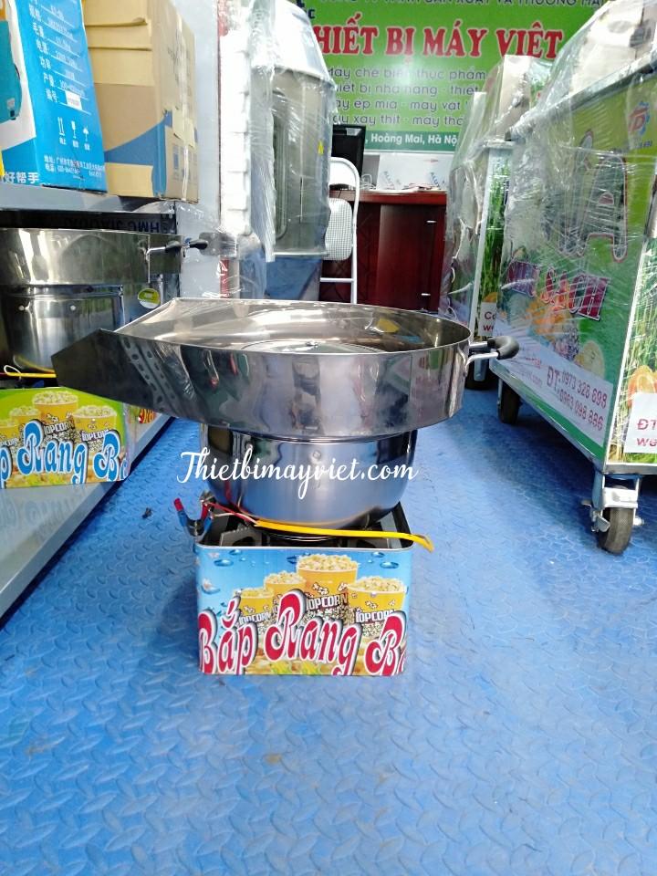 Máy rang bắp dùng bếp gas mini