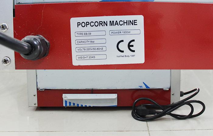 Máy nổ bắp rang bơ, Máy làm bắp rang bơ ZA-802