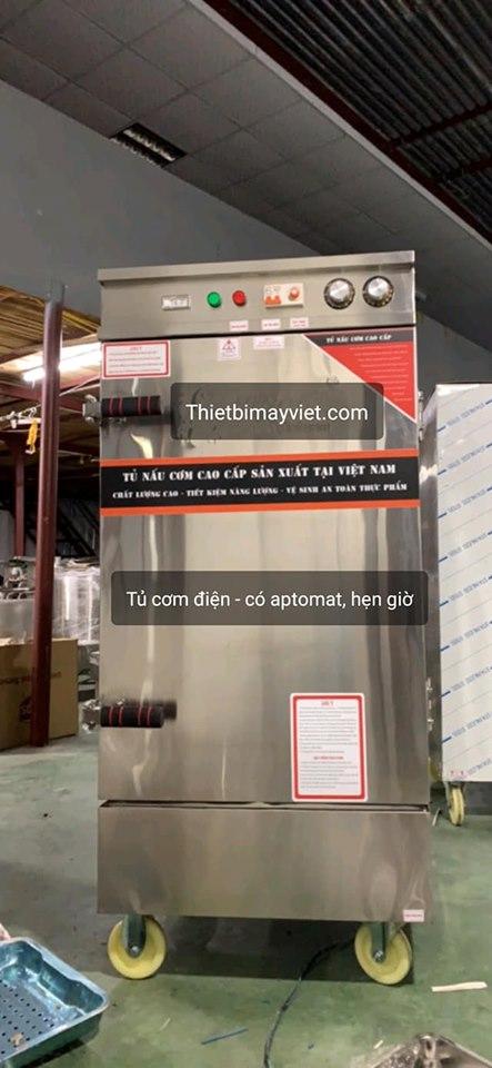 Tủ cơm điện có aptomat hẹn giờ