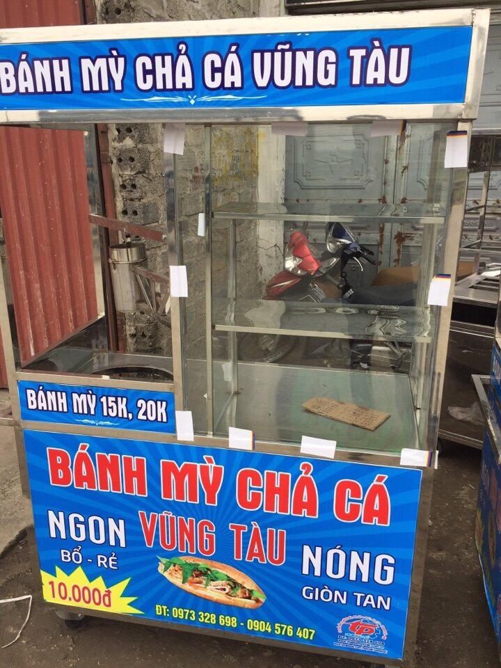 Xe bánh mì chả cá Vũng Tàu