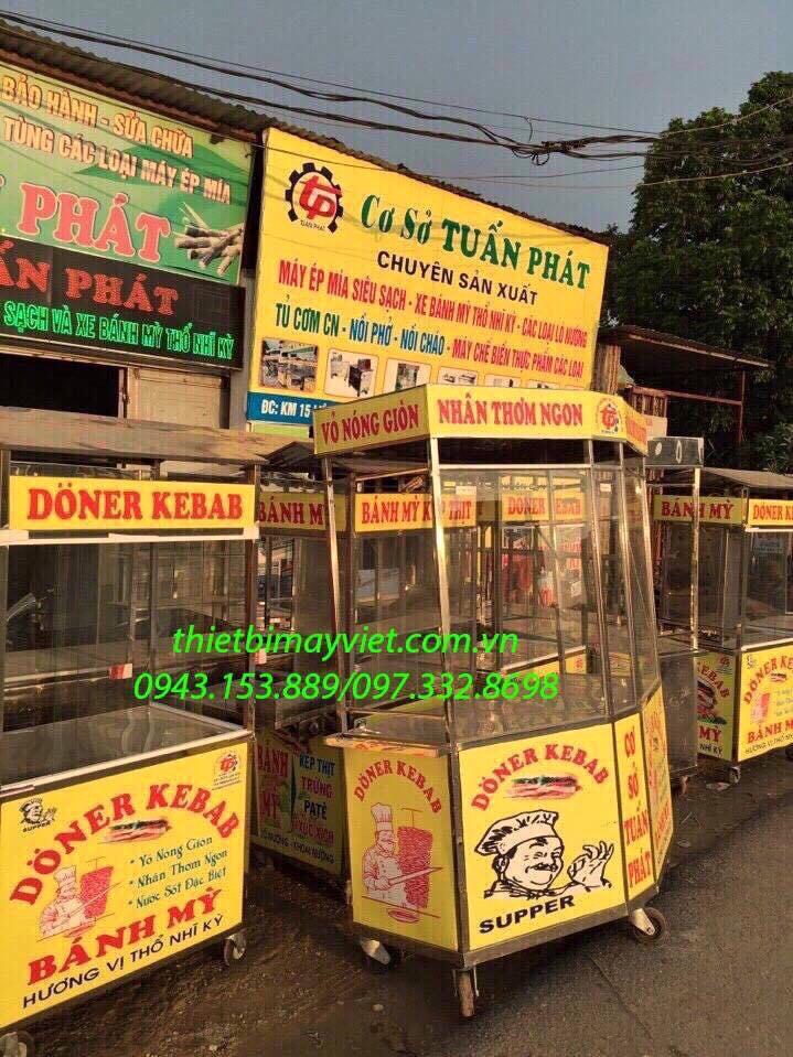 Xe bán bánh bao Tuấn Phát