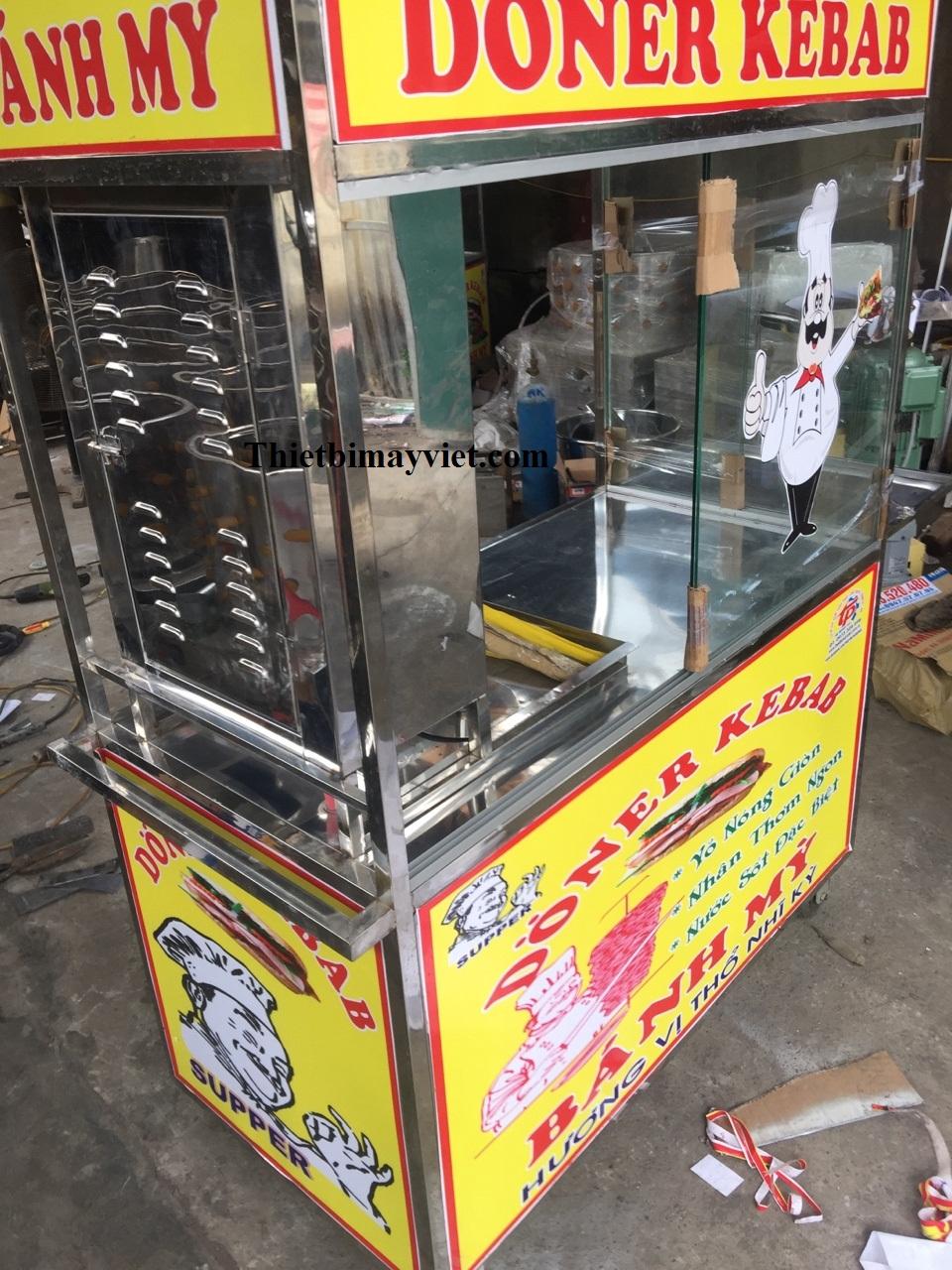 Xe bánh mì Doner Kebab 1m2
