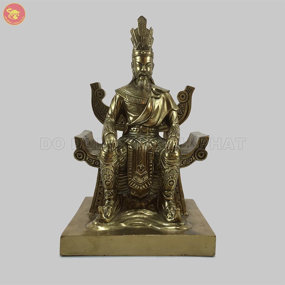 Quà tặng bằng đồng tượng Vua Hùng