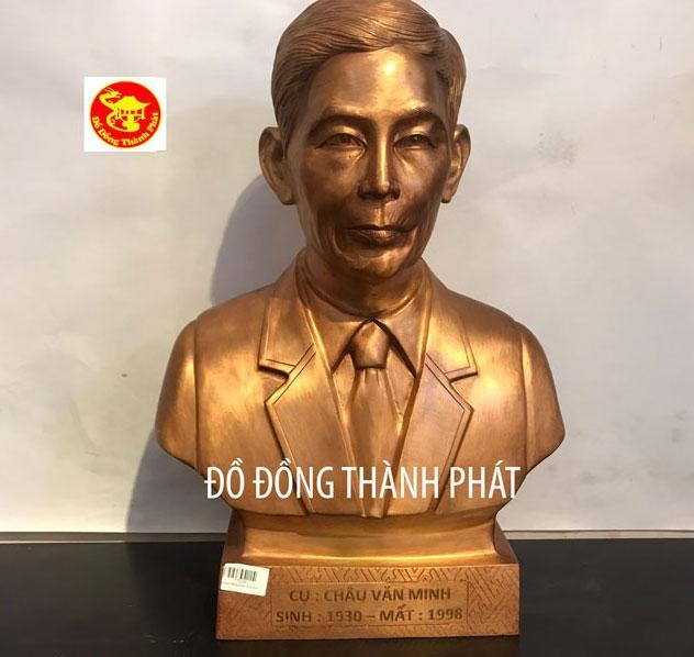 Đúc Tượng Chân Dung Bán Thân Bằng Đồng Theo Yêu Cầu Khách Ở Phú Yên