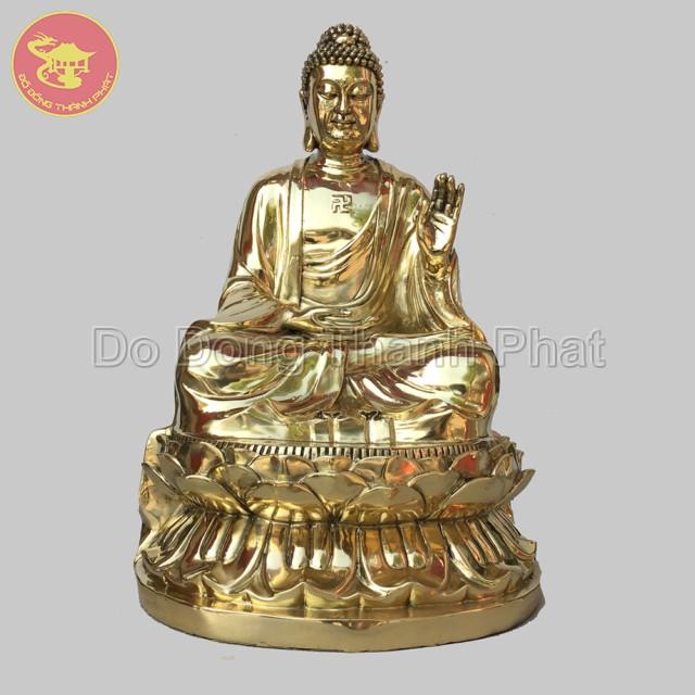 Tượng Dược Sư đồng vàng đẹp| Địa chỉ bán tượng phật uy tín tại Hà Nội, Đà Nẵng, HCM