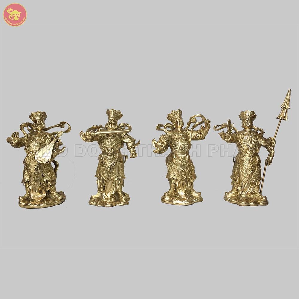 Địa chỉ bán tượng Phật Tứ Đại Thiên Vương Đồng Vàng đẹp uy tín tại Hà Nội, Đà Nẵng, HCM