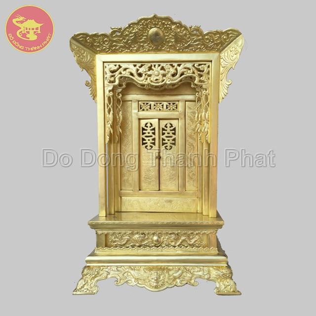 Khám Đồng Thờ Cúng Đẹp Cao 81 Cm, Rộng 45 cm