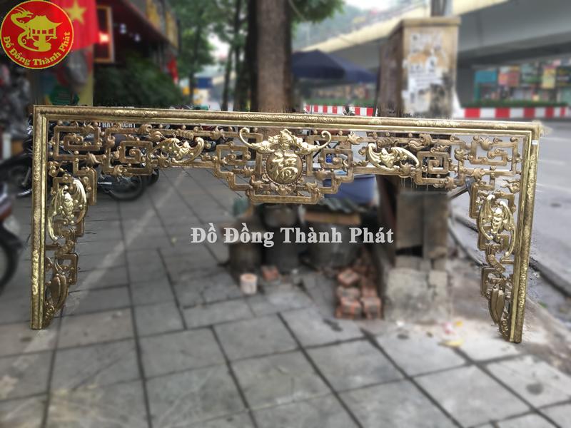 Bộ Cửa Võng Dơi Phúc Bằng Đồng Vàng