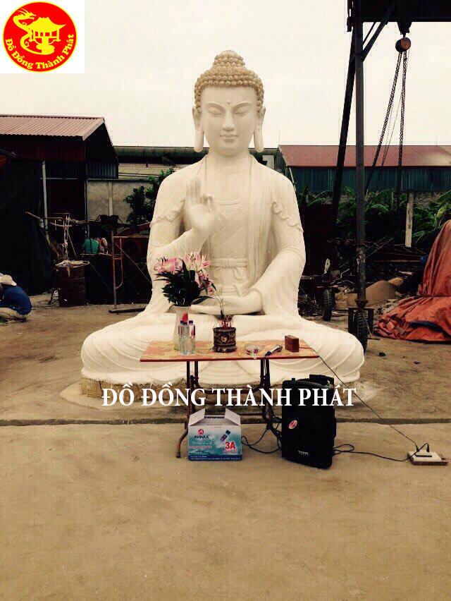 Đúc Tượng Phật Bằng Đồng Diện Đẹp Cao 4 m Mẫu Tượng Mật Tông Khối Lượng Nặng 4 000 kg
