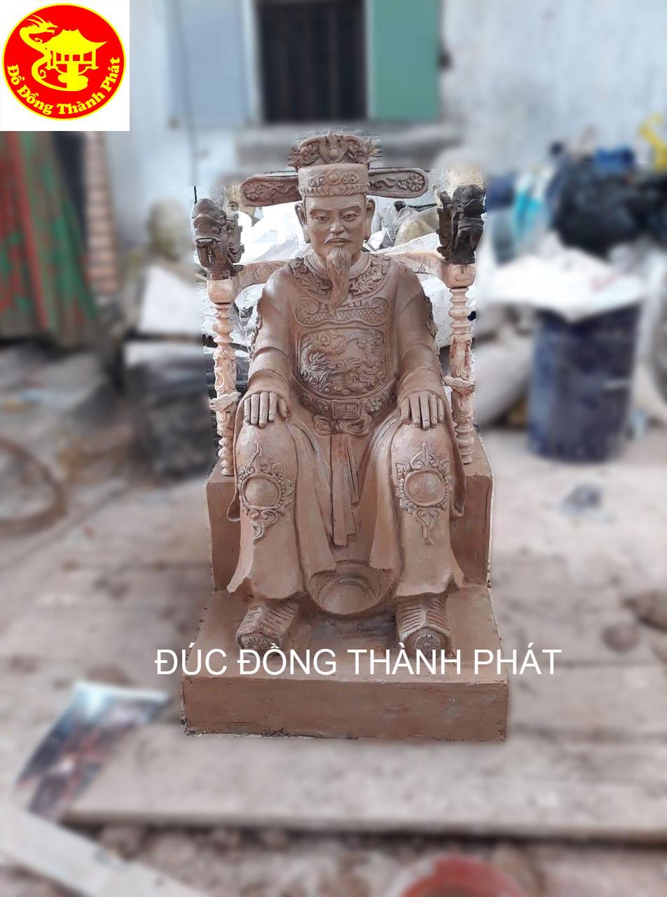 Đúc Tượng Ông Tổ Họ Nguyễn Công Duẩn Cho Khách Đồng Nai Dáp Vàng 9999
