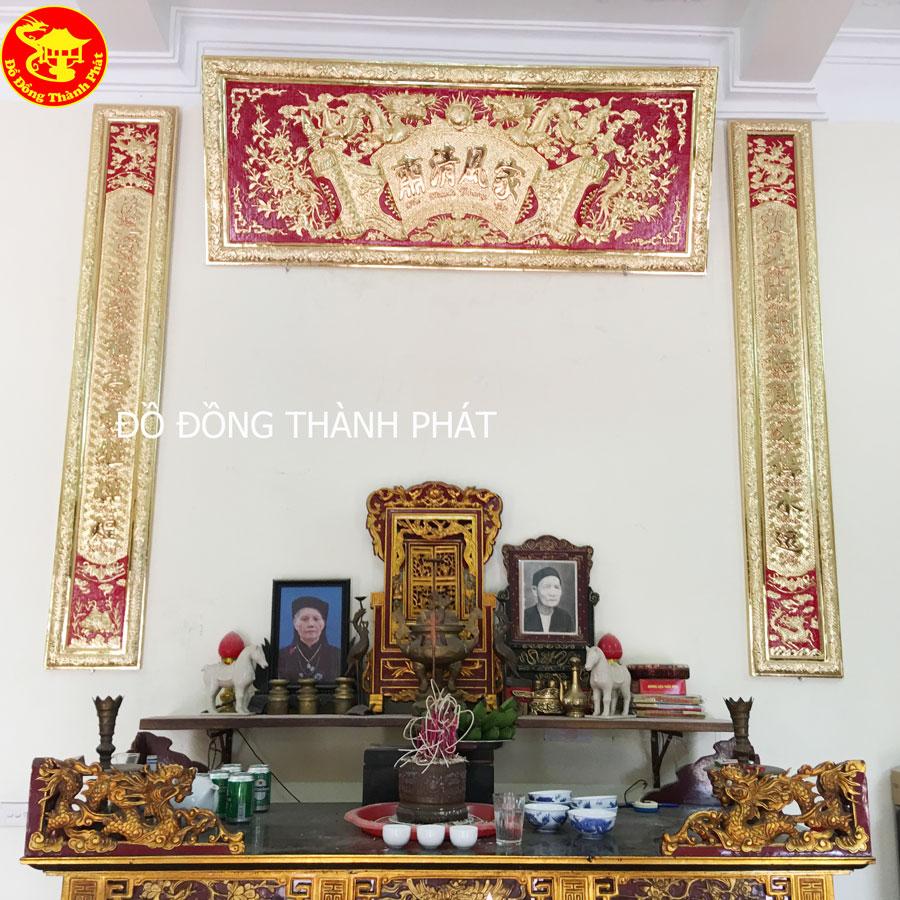 Hoành Phi Câu Đối Bằng Đồng Mạ Vàng 24k Cao Cấp Tại Hà Nội, Đà Nẵng, Sài Gòn
