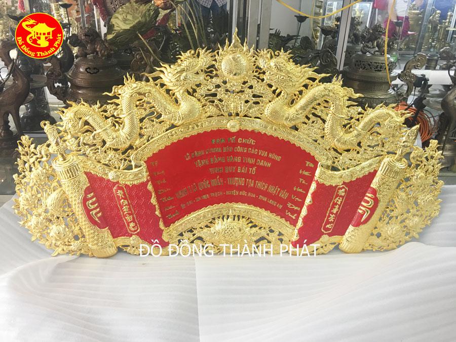 Cuốn Thư Bằng Đồng Mạ Vàng 24k Hàng Đẹp, Cao Cấp Tại Hà Nội, Đà Nẵng, Sài Gòn