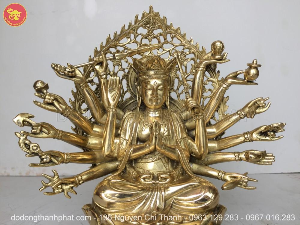 Địa chỉ bán tượng Phật Chuẩn Đề Bồ Tát Đồng Vàng đẹp uy tín tại Hà Nội, Đà Nẵng, HCM