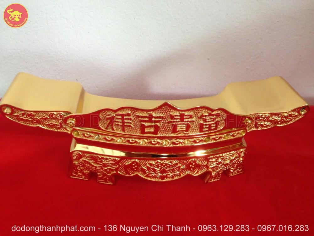 Cửa Hàng Bán Đồ Thờ Cúng Đồng Mạ vàng 24k