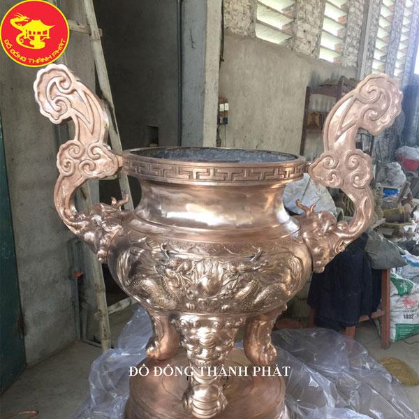Cơ Sở Đúc Lư Hương Bằng Đồng Đẹp Uy Tín Tại Hà Nội, Đà Nẵng, HCM