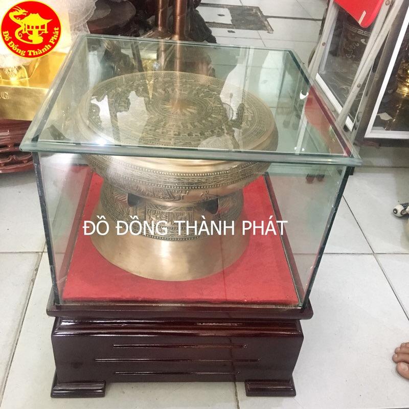 Trống Đồng Đông Sơn Hun Màu Cổ Đường Kính 60cm