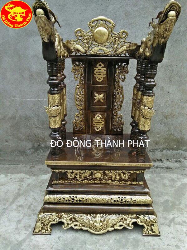 Ngai Đồng Thờ Cúng Hun gia Cổ Cao 81 Cm Rộng 47 Cm Sâu 30 Cm Cho ban thờ Gia Tiên