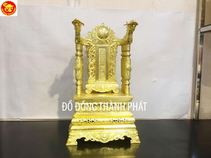 Bộ Ngai Đồng, Bài vị Bằng Đồng Thờ cúng Gia Tiên Cao 68 Cm Rộng 42 cm
