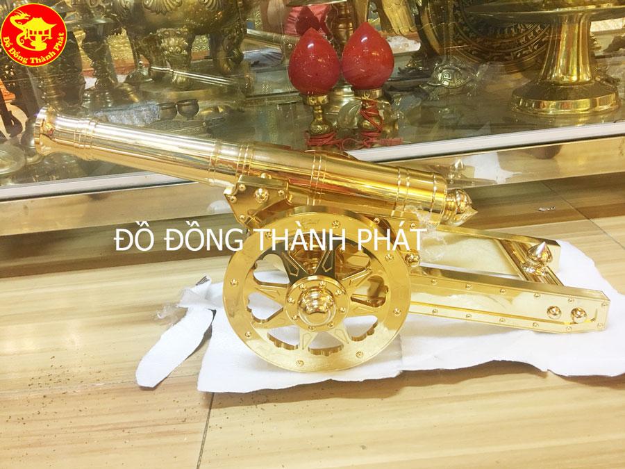 Súng Thần Công Bằng Đồng Mạ Vàng 24k Cao Cấp