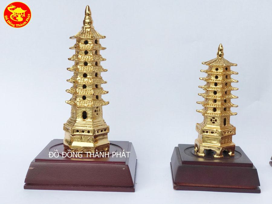 Địa Chỉ Bán Tháp Văn Xương Bằng Đồng Mạ Vàng 24k Tại Đà Nẵng