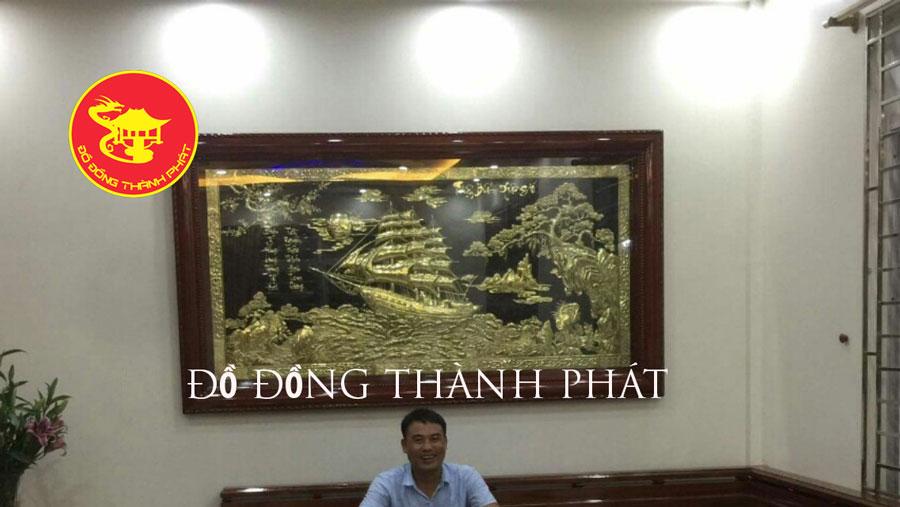 Tư Vấn Cách Treo tranh Đồng Thuận Buồm Xuôi Gió Khi Mua