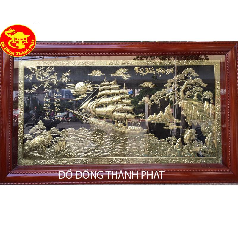 Tranh Thuận Buồm Xuôi Gió Bằng Đồng| Địa Chỉ Bán Tranh Đồng Đẹp Uy Tín