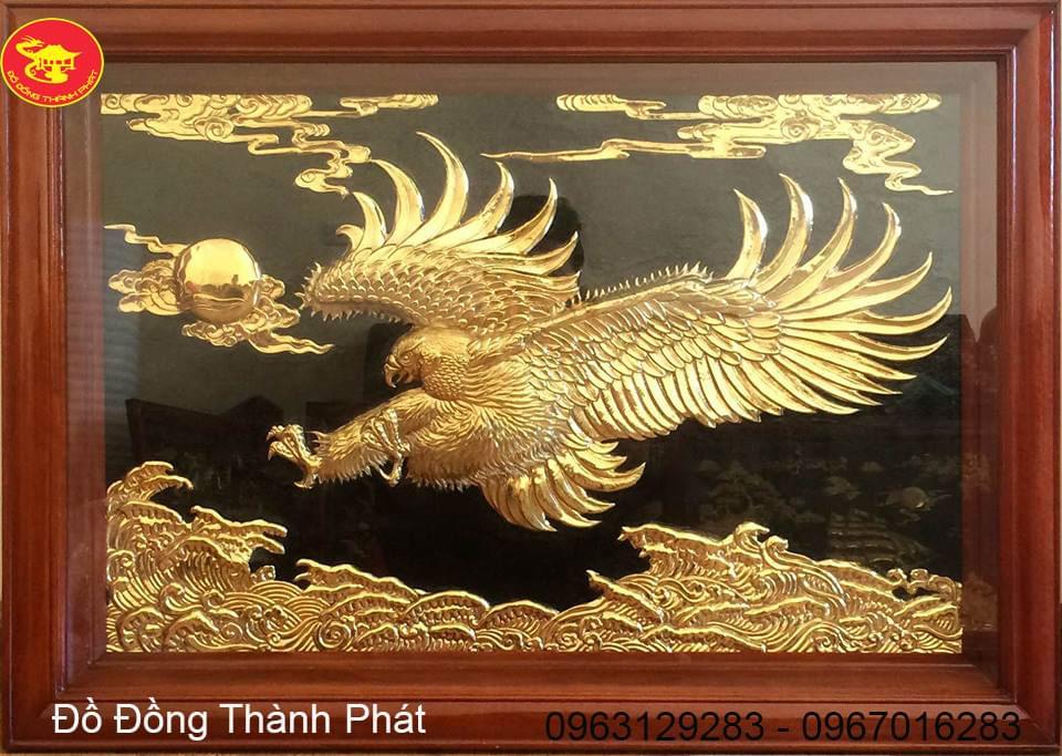 Tranh Đồng Anh Hùng Vượt Đại Ngàn Mạ Vàng| Địa Chỉ Bán Tranh Đồng Đẹp