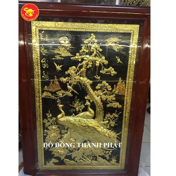 Tranh Đồng Vinh Hoa Phú Quý Mạ Vàng| Địa Chỉ Bán Tranh Đồng Đẹp Uy Tín