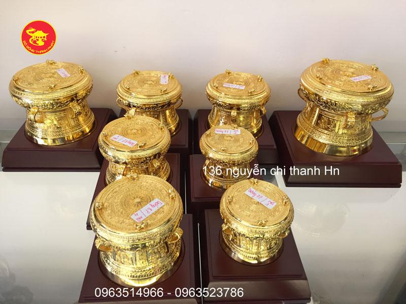Trống Đồng Đông Sơn Mạ Vàng 24k Cao Cấp Tại Hà Nội, Đà Nẵng, Sài Gòn