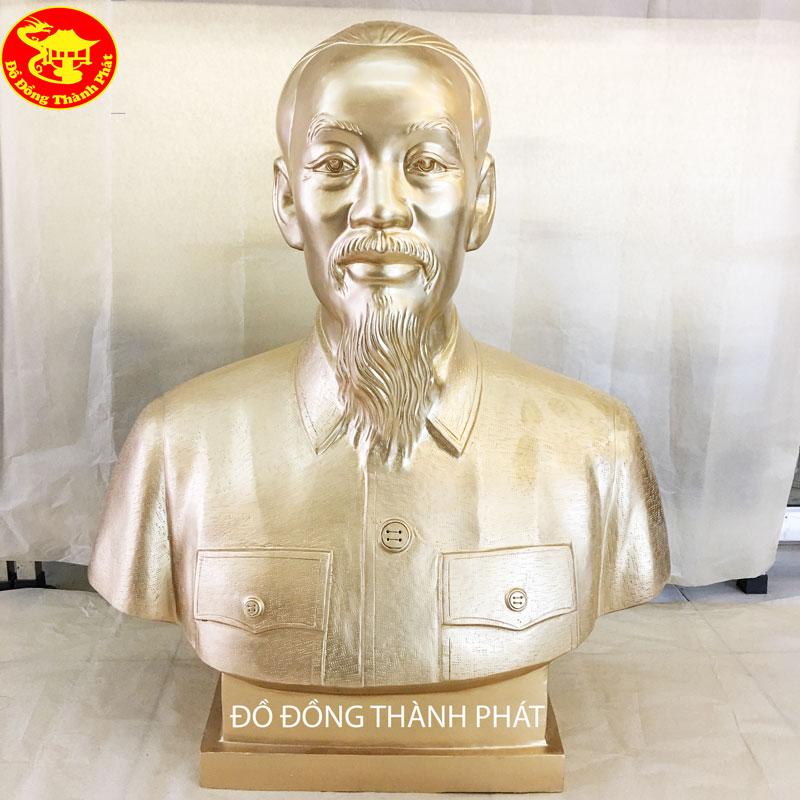 Mẫu Tượng Đúc Bán Thân Bác Hồ Cho Tỉnh Uỷ Thành Phố Thái Bình