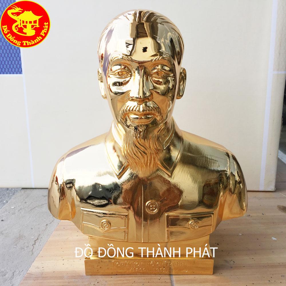 Địa Chỉ Bán Tượng Bác Hồ Bằng Đồng Mạ Vàng 24k Tại Hải Phòng