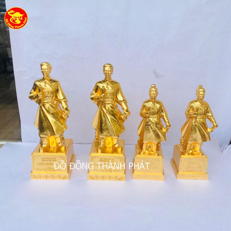 Địa Chỉ Bán Tượng Danh Nhân Trần Quốc Tuấn Bằng Đồng Mạ Vàng Tại Hà Nội