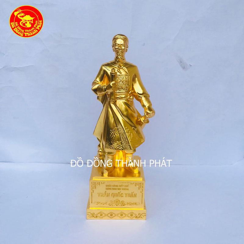 Tượng Hưng Đạo Vương  Mạ Vàng 24k Cao Cấp Bán Tại Hà Nội