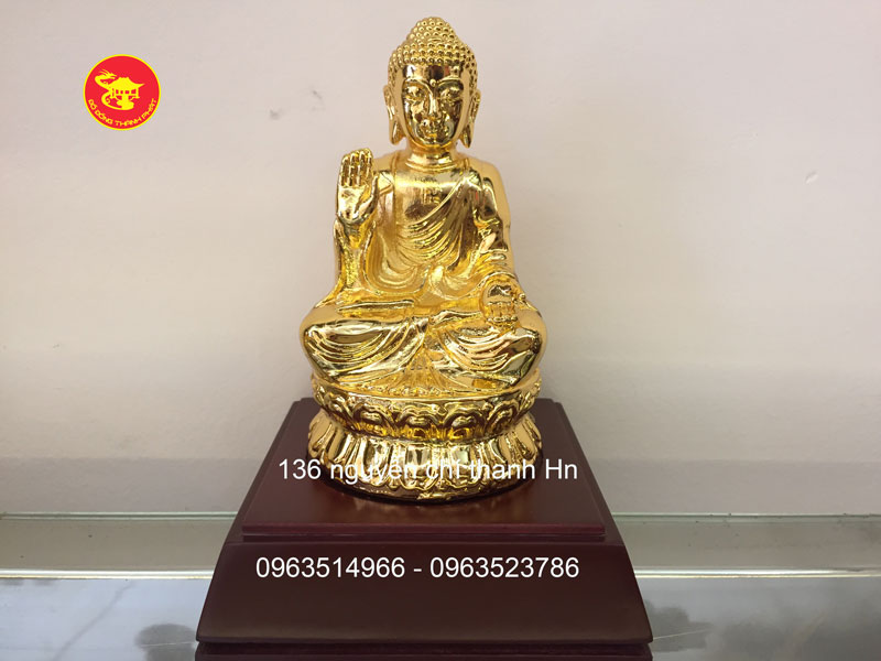 Tượng Phật Đồng a di đà Mạ Vàng 24k Cao Cấp Tại Hà Nội