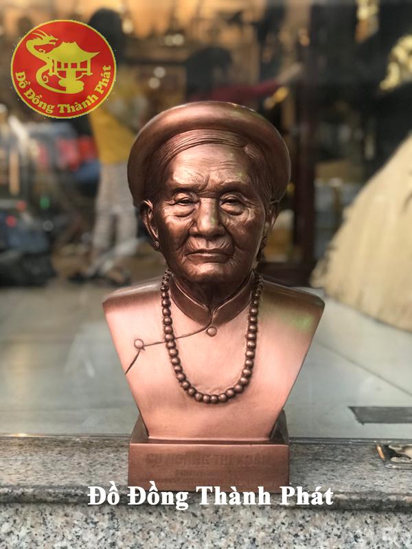 Cơ sở nhận đúc tượng chân dung bán thân bằng đồng theo yêu cầu tại Đà Nẵng