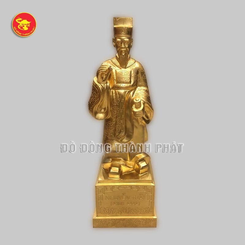 Tượng Nguyễn Trãi bằng đồng