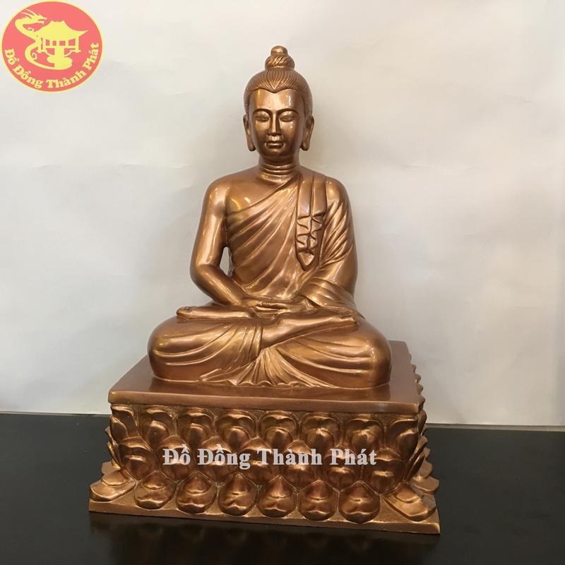 Tượng Phật Thích Ca Mâu Ni Bằng Đồng