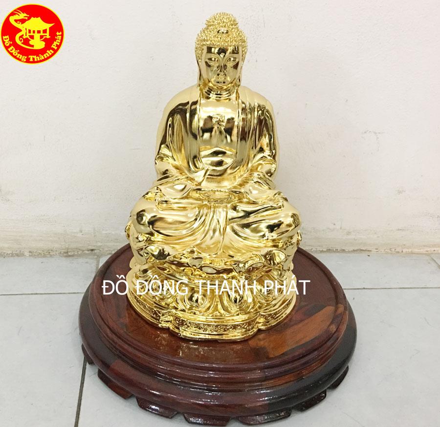Tượng Phật Bổn Sư Bằng Đồng Mạ Vàng 24k tại Hà Nội