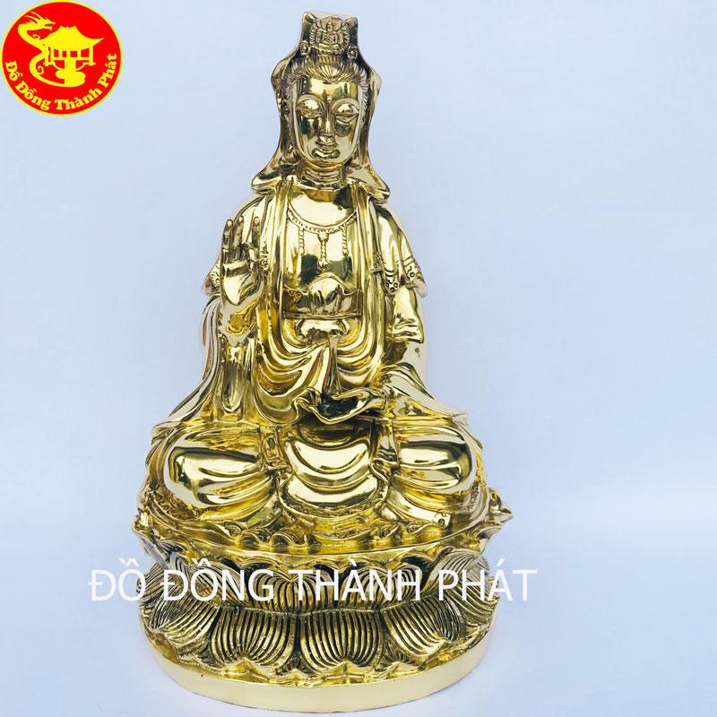 Tượng Đồng Bồ Tát Quán Thế Âm Cao 39cm Tại Hà Nội, Đà Nẵng, Sài Gòn