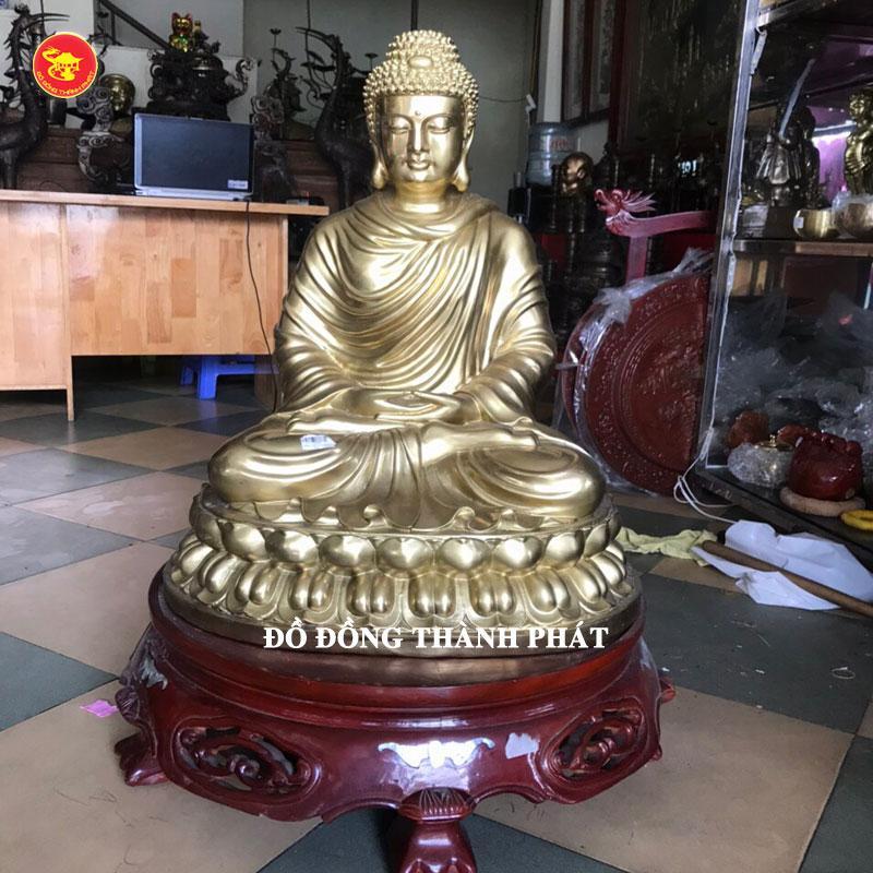 Tượng bổn sư Thích Ca Mâu Ni bằng đồng tại Hà Nội