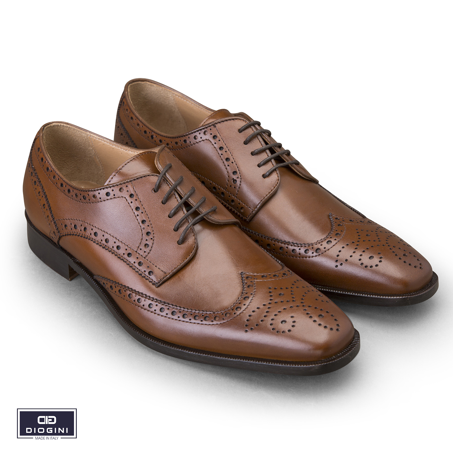 giày full brogues, half brogues, longwing brogues