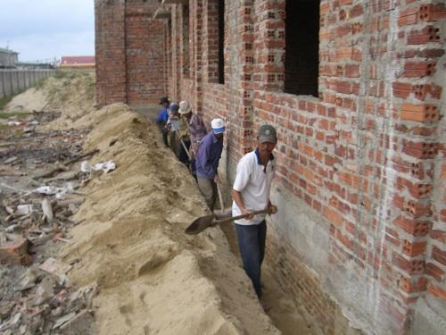 Phòng mối công trình xây dựng mới